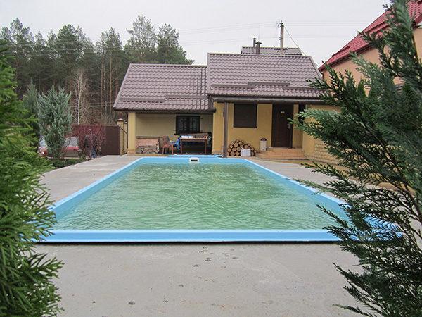 Чаша бассейна «Виктория»