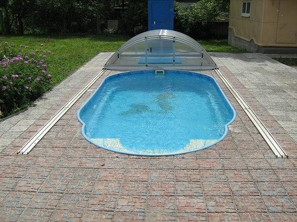 Чаша бассейна «Комфорт» 1