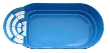 Чаша бассейна «Комфорт»