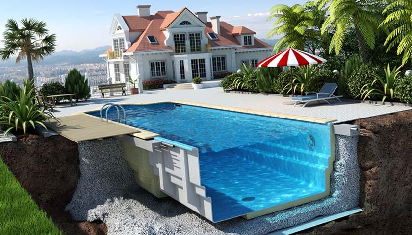 проект строительства бассейнов