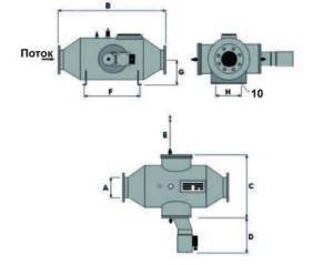 УФ установка Triogen UVARAY схема