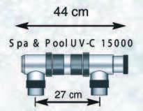UV-C, 16 Вт размеры