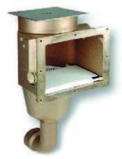 Скиммер бронза, глубина 240 мм