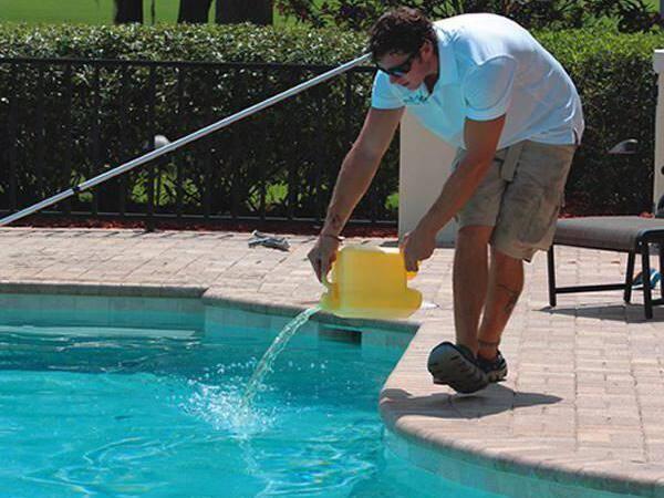 перекисью водорода очистка воды в бассейне