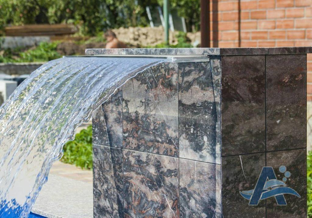 Водопад установка