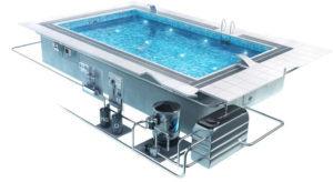 циркуляции воды в бассейне