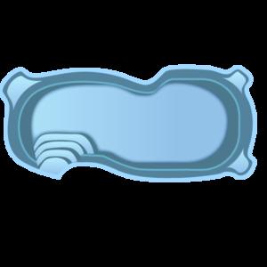 Бассейн 7,50х3,50х1,20-1,60