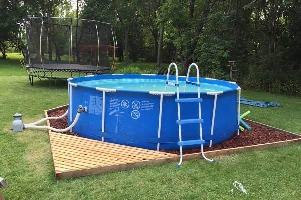 Каркасный-бассейн