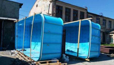 производство полипропиленовых бассейнов