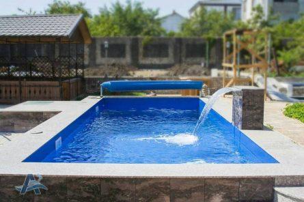 Бетонный бассейн покрытие лайнер