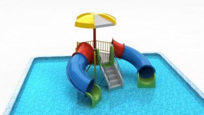 Детский водный комплекс Крабик