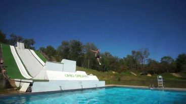 трамплин в бассейн